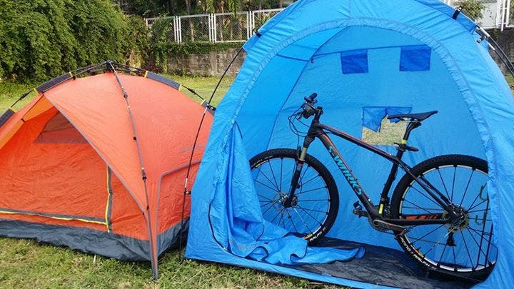 Camperkid Philippines Bike Tent storage