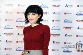 Carly Rae Jepsen live in Manila presscon