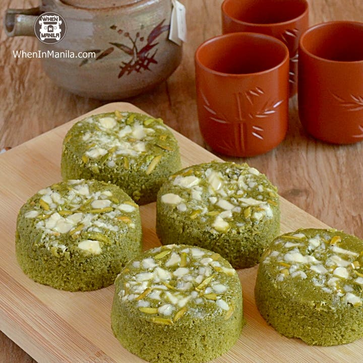 Pastry Armoire- matcha blondies