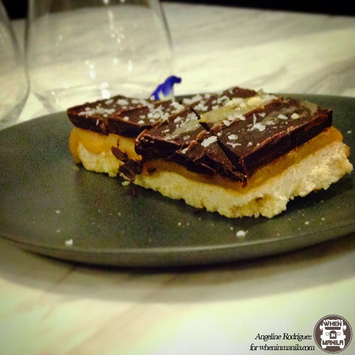 The Girl and the Bull Faux Twix Dessert BF Homes