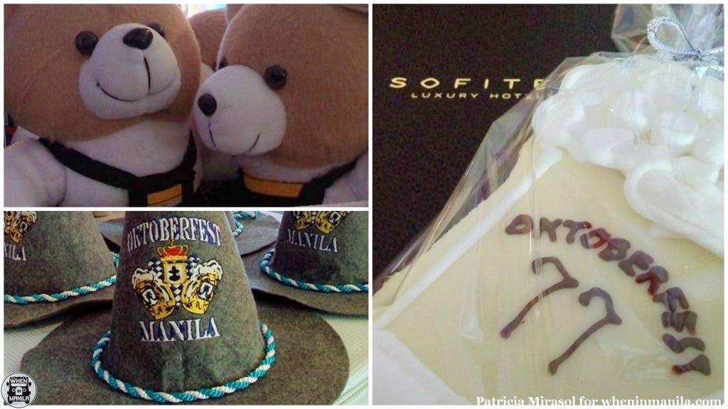 Souvenirs at Sofitel's 2015 Oktoberfest press launch.