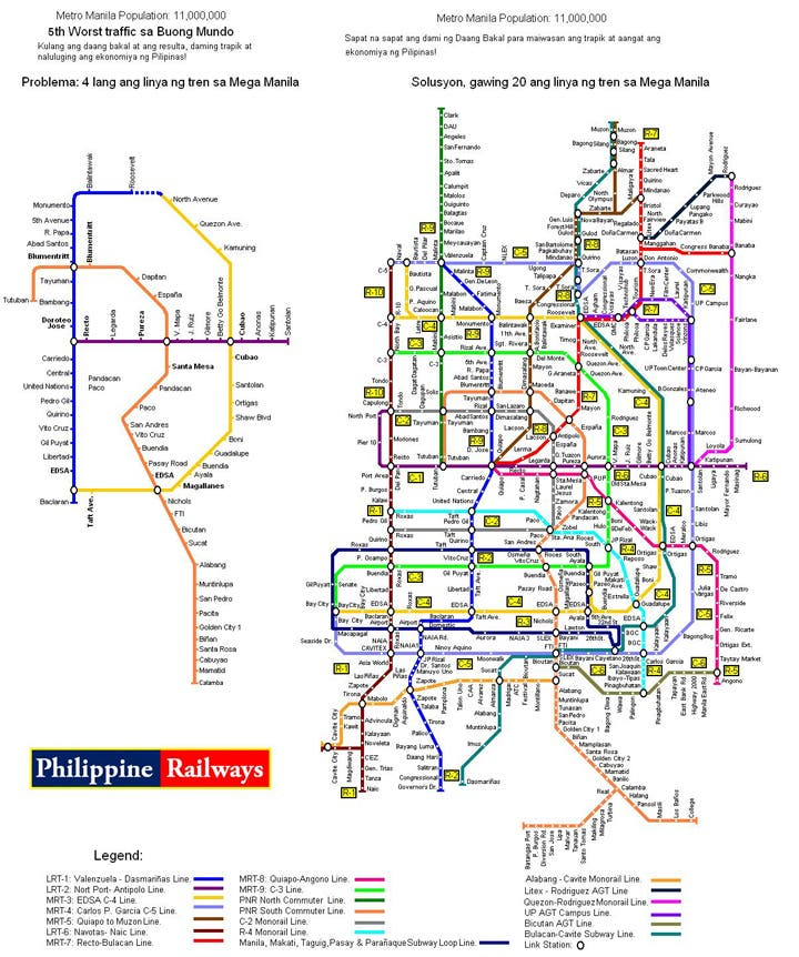 When in manila lifestyle travel philippine news and manila look will this railway network connecting mega manila solve our traffic problems malvernweather Gallery