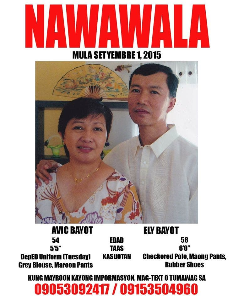 Netizen Asks For Internet's Help in Looking for Missing Parents