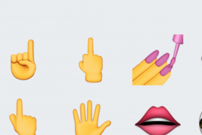 middle finger emoji apple iOS 9.1