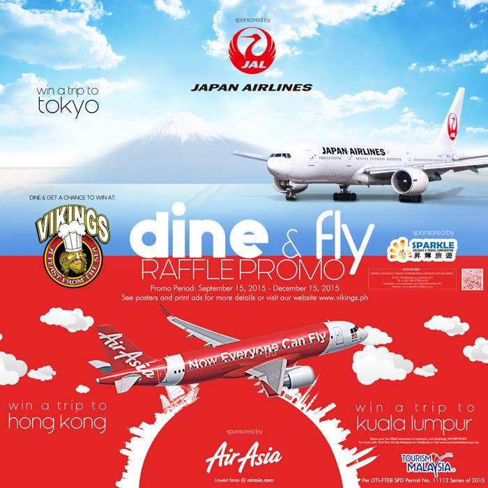 Vikings Luxury Buffet AirAsia Philippines Dine & Fly Promo (1 of 1)