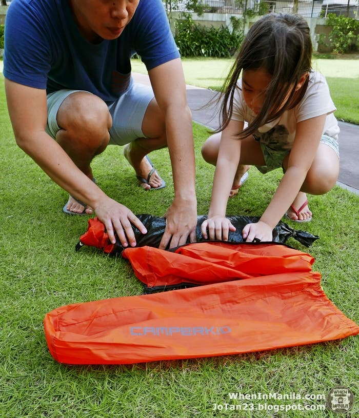 camperkidPH philippines bike tents