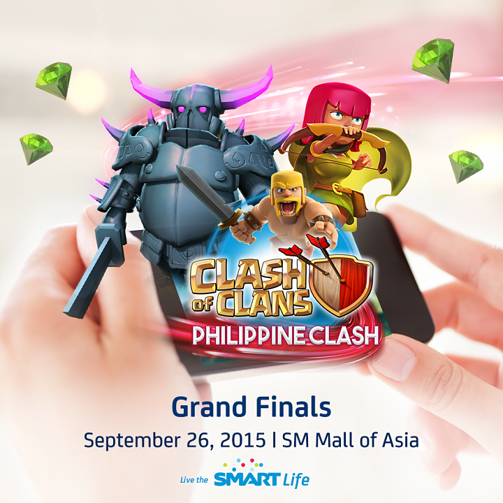 The Biggest Clash of Clans Tournament Set at SM MOA on Sept. 26 SMART