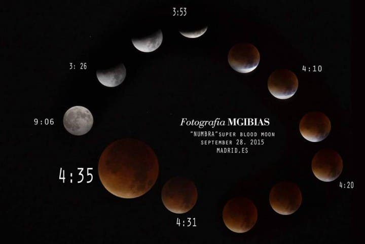 Filipino Photographer in Spain Caught Rare Total Lunar Eclipse on Camera
