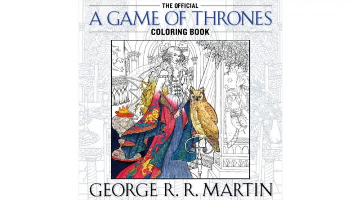 Game of Thrones Adult Coloring Book