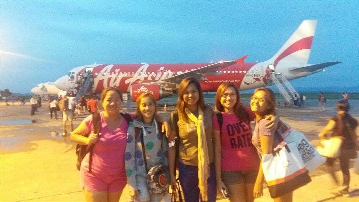 Pink Women on Fire Leyte Outreach, When in Manila, Air Asia Philippines, Flash Cargo Manila, The Friendly Swede