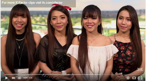 WATCH: Filipina Sisters 4th Power Shows X Factor UK How It's Done in
