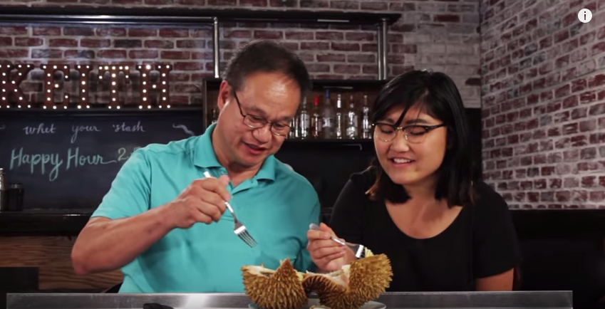 Americans Try Durian for the First Time