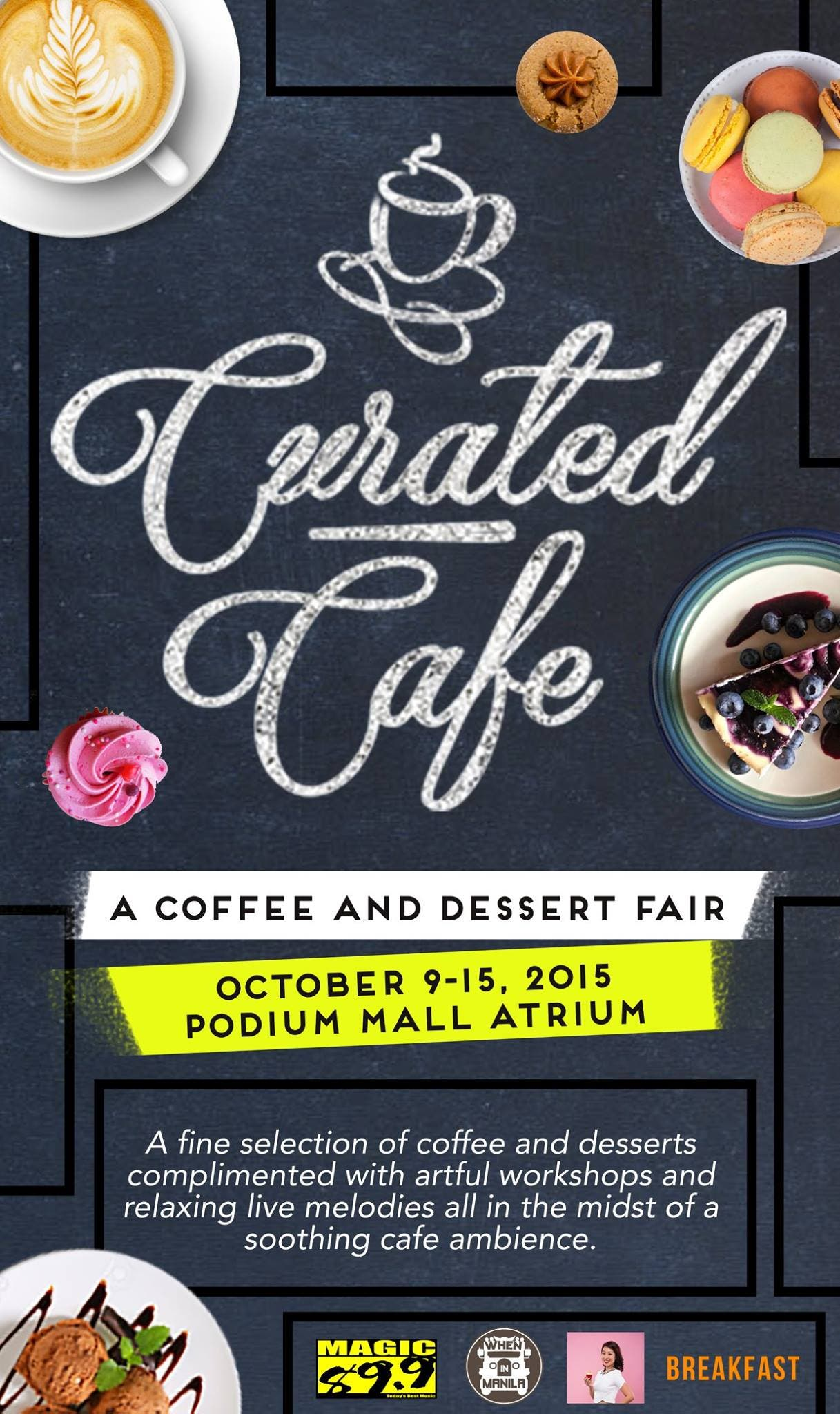 Curated Cafe Poster