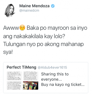 "Maine ""Yaya Dub"" Reaches Out to a Senior Citizen Fan"
