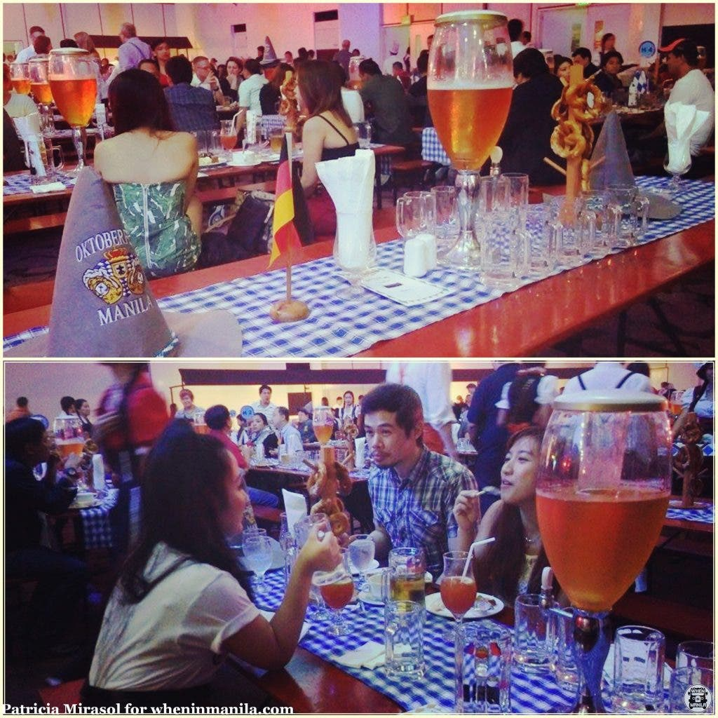 An authentic Bavarian feast and free-flowing beer satisfied all the guests at the 77th Oktoberfest in Sofitel.