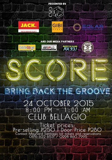 SCORE 3.0 Event Poster (Low Resolution)