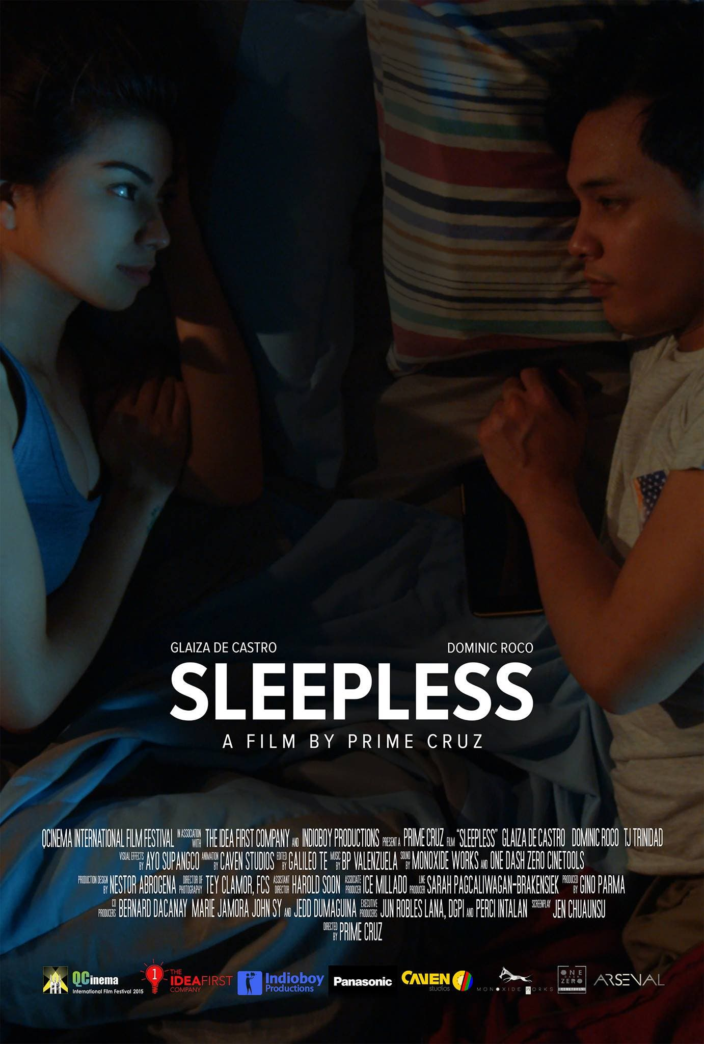 Sleepless film official trailer QCinema International Film Festival Circle Competition Glaiza de Castro Dominic Roco Prime Cruz