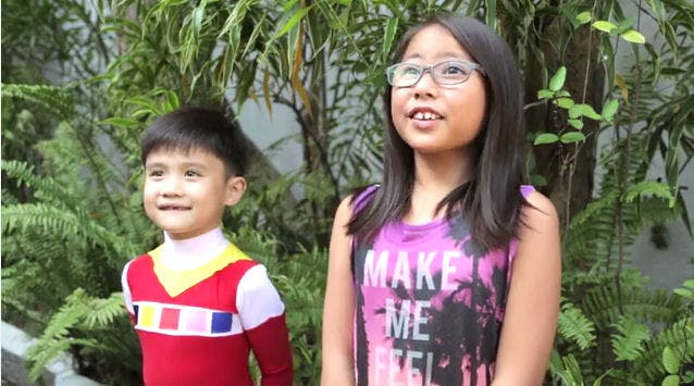 Super-Girl-Ani-Mia-and-Red-Space-Ranger-Team-Up-Against-Bullying-in-this-youtube-video-redranger