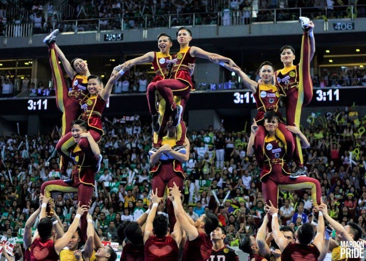 UP Pep Squad Cheerdance Competition 2015
