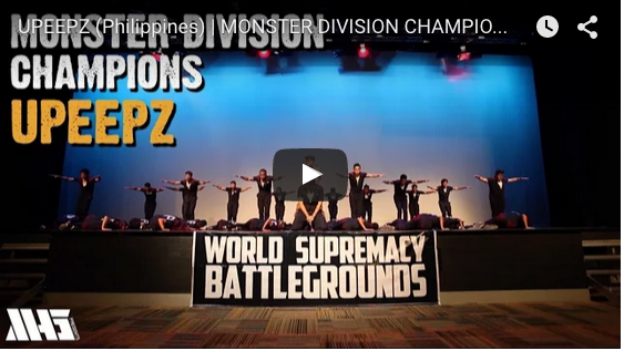 UPeepz World Supremacy Battlegrounds win