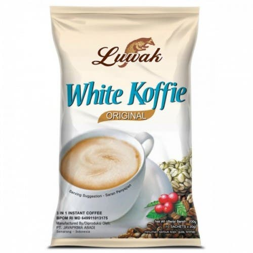 White Koffie BagS 10s