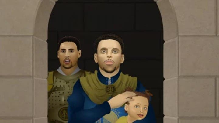 golden state warriors game of thrones spoof