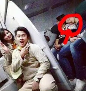 sleeping alden richards cebu pacific air