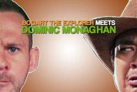 """LOST"" Star Dominic Monaghan Meets Bogart the Explorer"