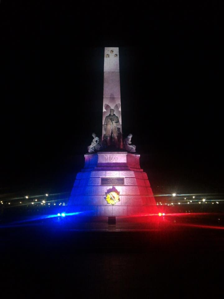 Rizal Monument Lights