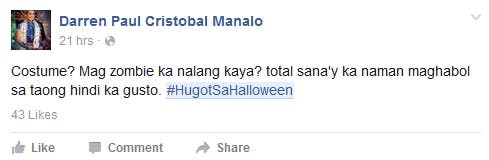 Top 13 #HugotSaHalloween Lines on Facebook and Twitter