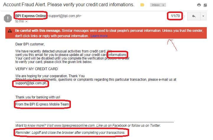 Careful Information Out In Manila Emails Giving When - Be Online Fake