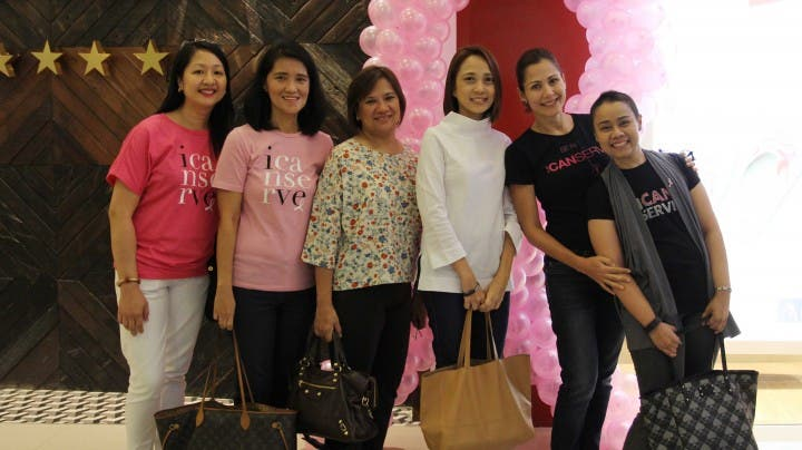 Breast Cancer Survivors support Fitflop's IcanServe Foundation Event
