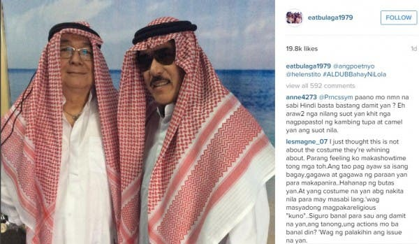 Eat Bulaga Hosts Allegedly Offended Muslims for Wearing a