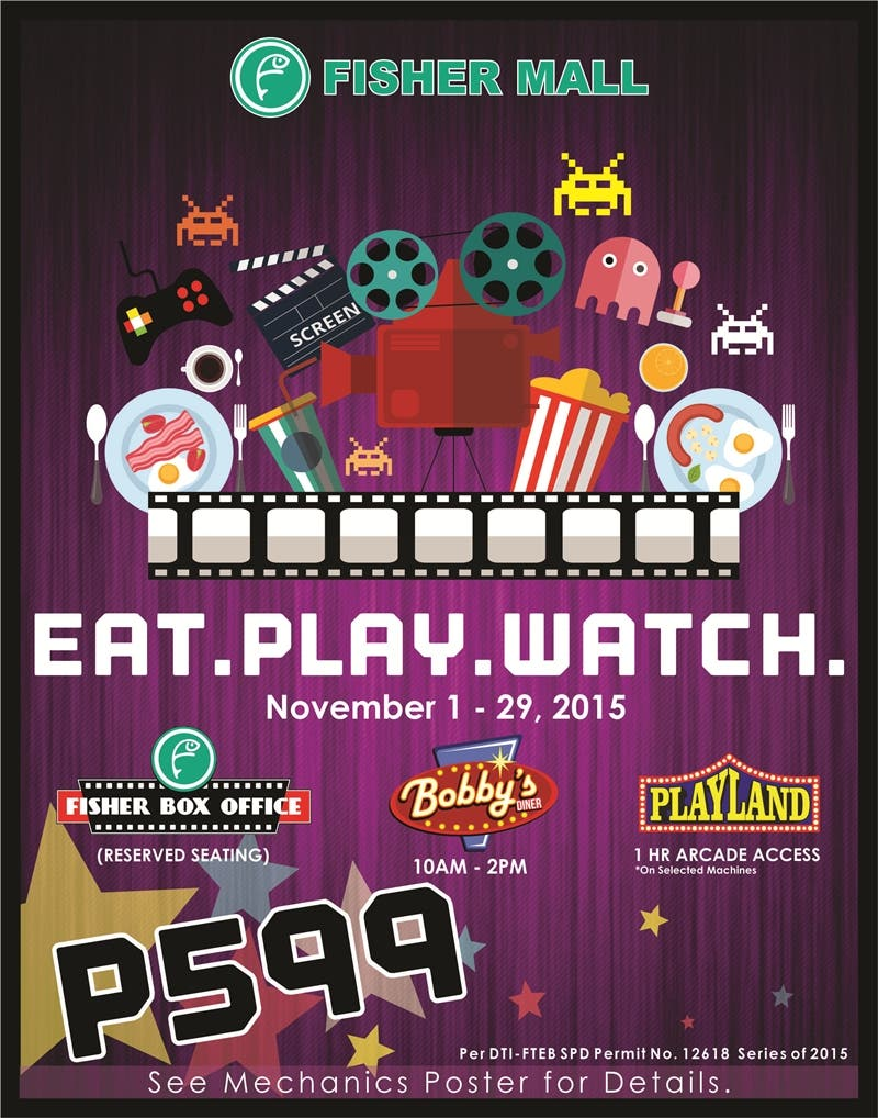 Eat Play Watch POSTER