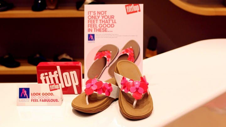 Fashion for a Cause with Fitflop's Collaboration with ICanServe Foundation on Breast Cancer