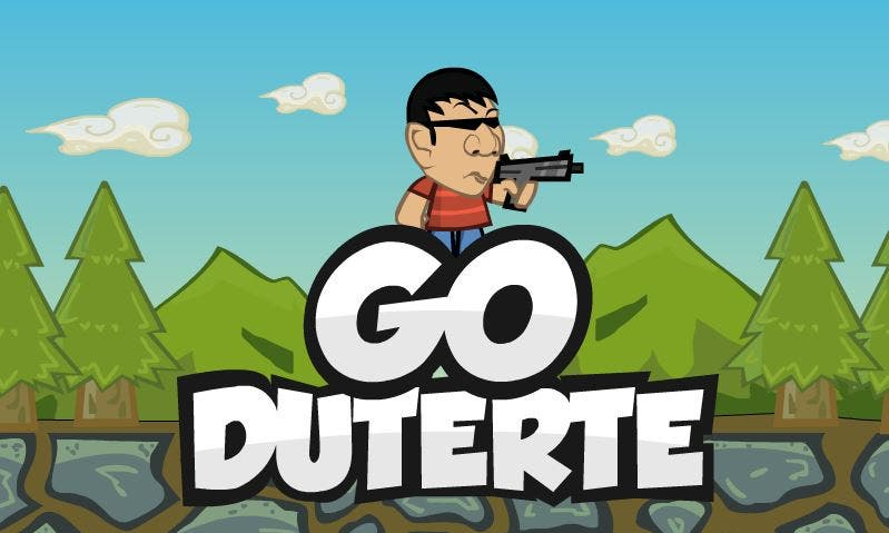 GET RODY TO RUMBLE There's a Game Called Go Duterte