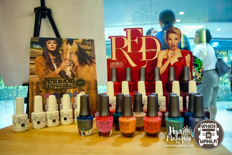 Color selection for Gelish products