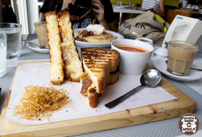 Indulgent Breakfasts at Sunny Side Café, Boracay_Bacon Mango Grilled Cheese