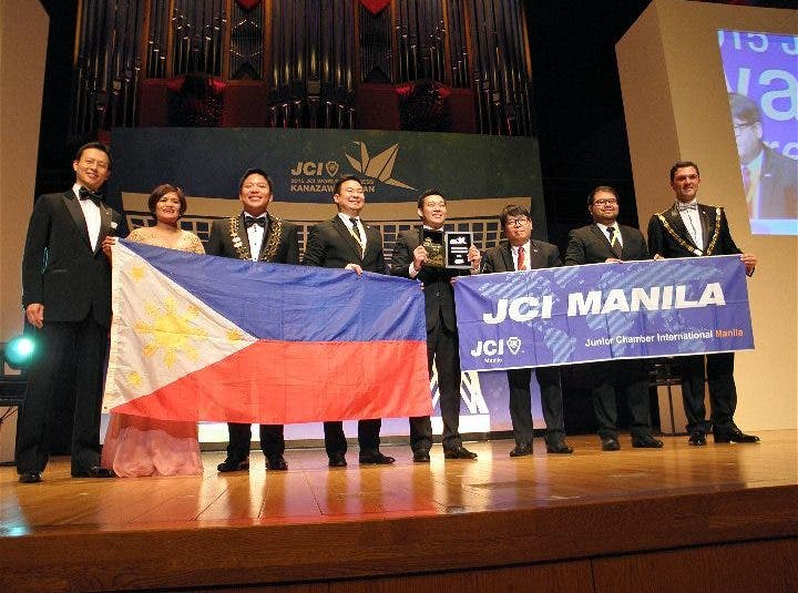 Junior Chamber International Manil aMost Outstanding Local Organization Award In The World