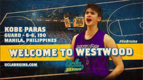 Kobe Paras officially commits to UCLA