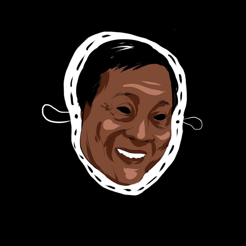 LOOK College Newspaper Releases Halloween Masks Featuring Controversial Filipinos 2