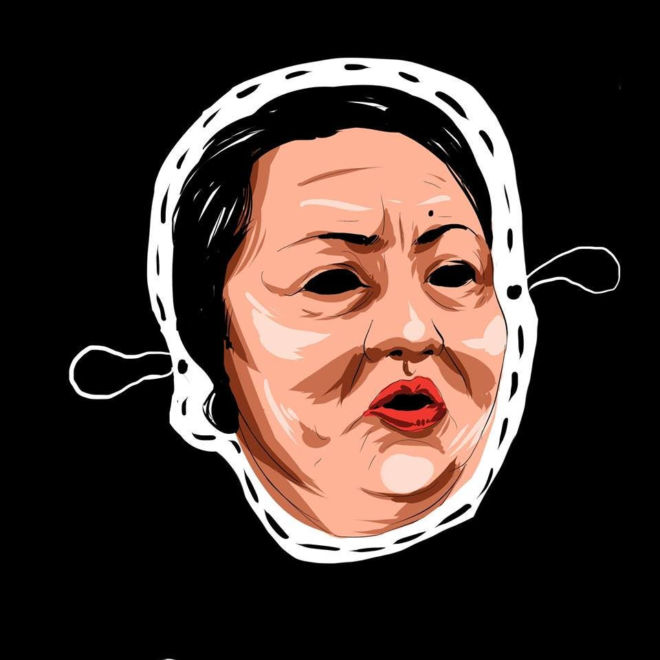 LOOK College Newspaper Releases Halloween Masks Featuring Controversial Filipinos 4