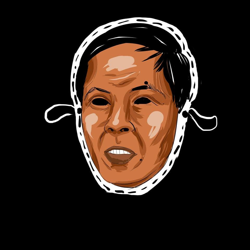 LOOK College Newspaper Releases Halloween Masks Featuring Controversial Filipinos 5