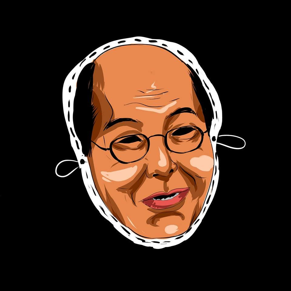 LOOK College Newspaper Releases Halloween Masks Featuring Controversial Filipinos 6