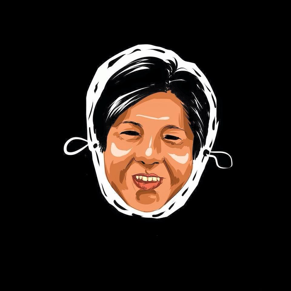 LOOK College Newspaper Releases Halloween Masks Featuring Controversial Filipinos 9