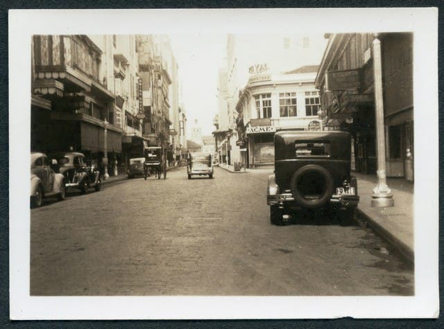 """The ""Esolta"" of Manila. Same as ""Broadway"" of San Diego. I'd rather be looking at the latter."""