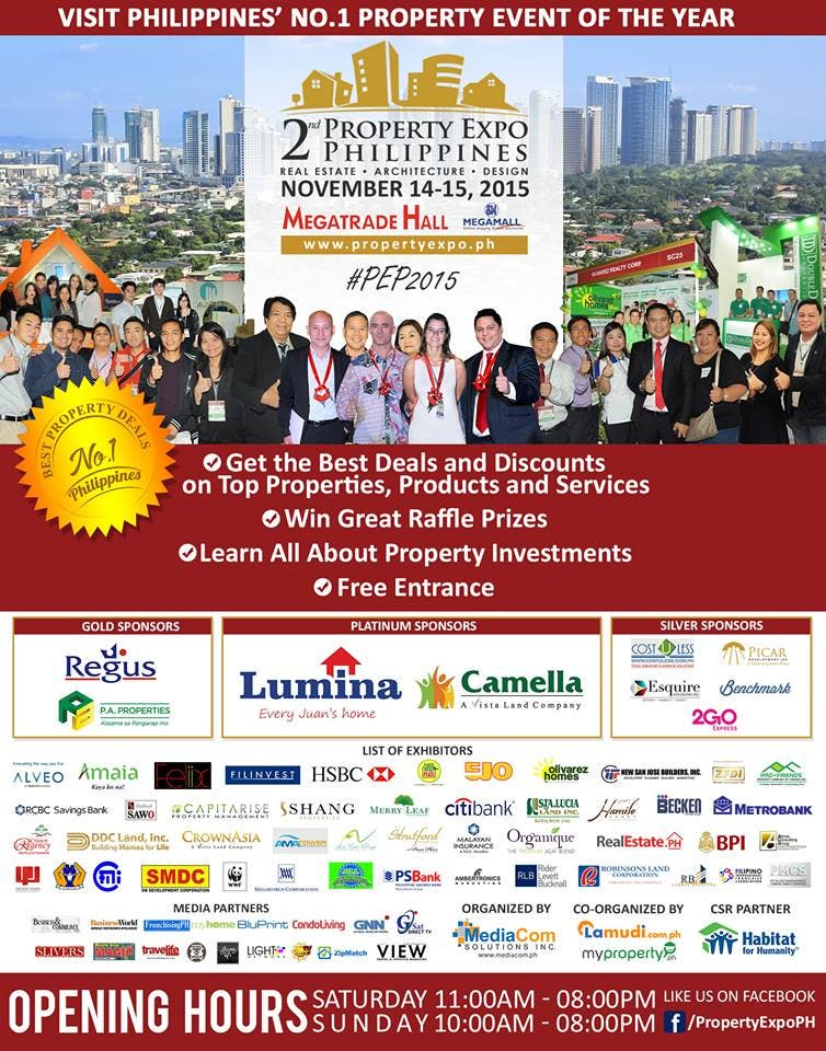 Property Expo Philippines 2015 Poster