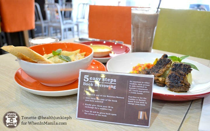 Read, Sip, and Dine at Book and Borders Cafe 1