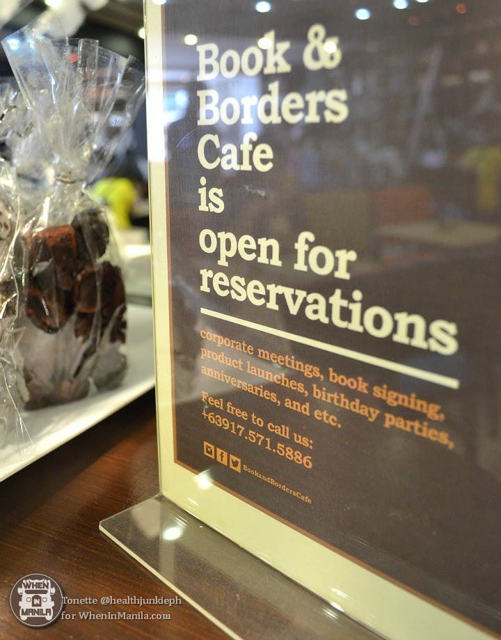 Read, Sip, and Dine at Book and Borders Cafe 10