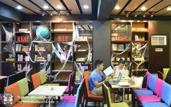 Read, Sip, and Dine at Book and Borders Cafe 2